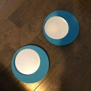 2 IKEA Horten Mirrors